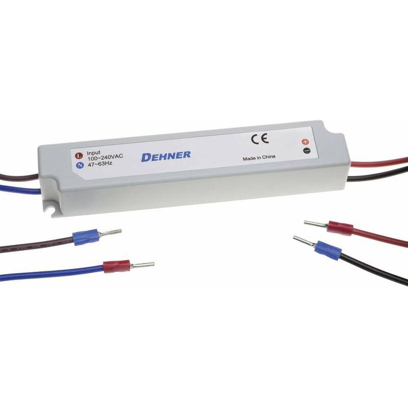 LED-12V60W-IP67 Trasformatore per LED Tensione costante 60 W 0 - 5 A 12 V/DC non dimmerabile, Protezi - Dehner Elektronik