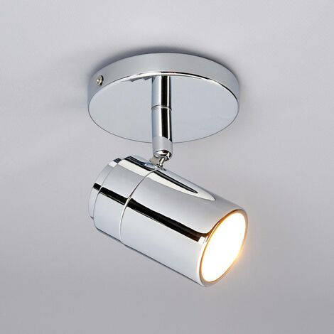 Dejan ceiling and wall spotlight, chrome