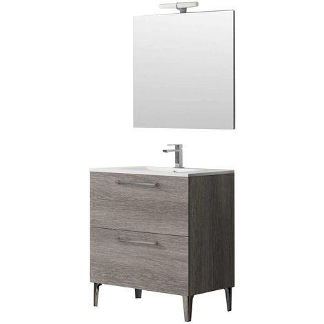 DEKO Conjunto mueble de baño Muratti 80 cm