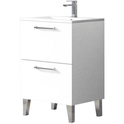 DEKO Mueble de baño Blanco 60 cm