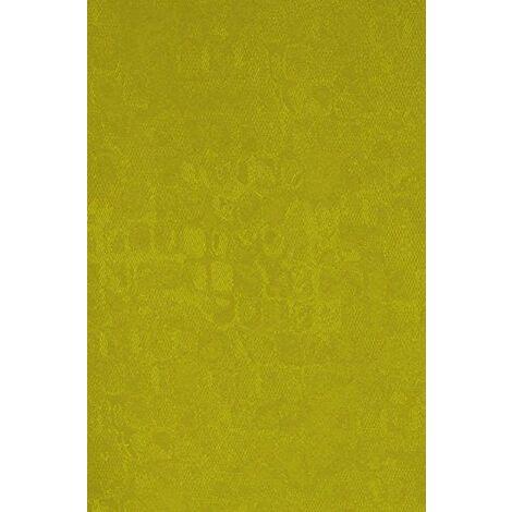 Deko Trends Xenia 6237021617Rideau avec galon fronceur, plastique, vert, 245x 137x 0,1cm