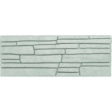 Dekorsteine | Steinoptik | Styroporplatten | Verblender | 48x18cm | Rock grau
