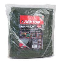 Dekton 18 x 24 Multipurpose Heavy Duty Tarpaulin Waterproof Ground Sheet Cover