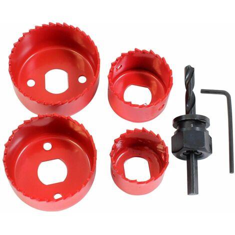 DEKTON DT45805 6 Piece Holesaw Kit Includes Allen Key & Arbo