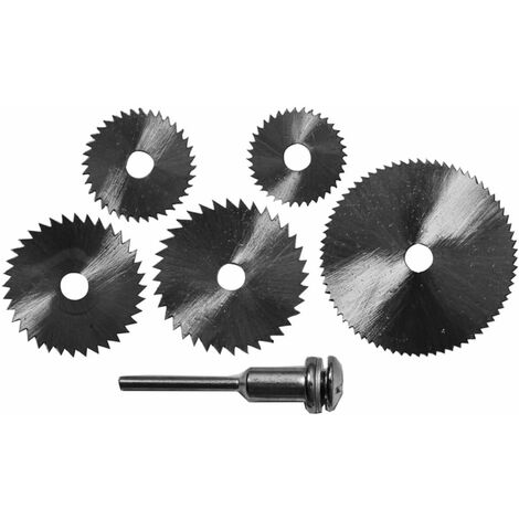 DEKTON DT80503 ROTARY SAW BLADE KIT 6PC