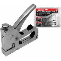 Dekton Staple Gun Heavy Duty Tacker with 800 Staples Upholstery Stapler