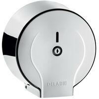 Delabie - Distributeur de papier toilette Jumbo 200 m Inox 304 poli brillant