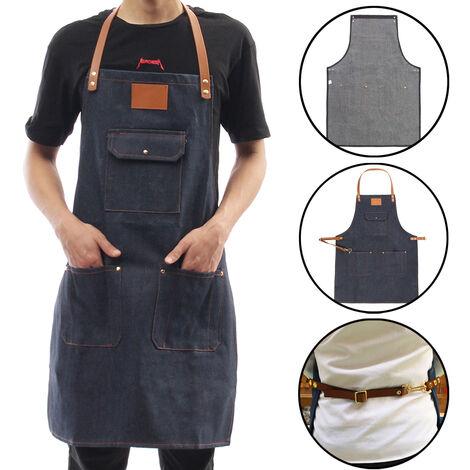 Delantal de chef Cocina Restaurante Sommelier Panadería Hotel Jean Lona Denim