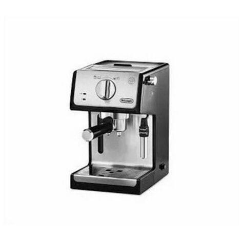 De'Longhi Cafetera Expreso Active Line ECP33.21.BK. Café Molido Y Monodosis. 2 Tazas Simultáneas. Depósito 1,1 L. Color Negro