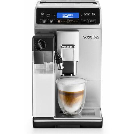 De'Longhi De Longhi Autentica ETAM29660SB - Machine à expresso - Café en grains - Café moulu - Broyeur intégré - 1450 W - Noir - Argent (132215220)