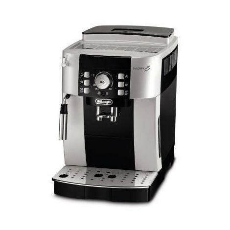 De'Longhi De Longhi Magnifica S ECAM 21.117.SB - Machine à expresso - 1,8 L - Café en grains - Café moulu - Broyeur intégré - 1450 W - Noir - Argent (ECAM 21.117.SB)
