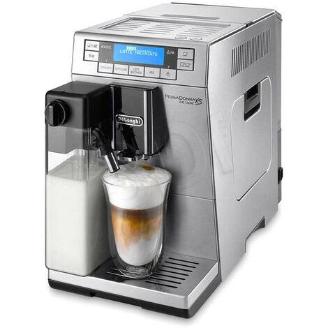 De'Longhi De Longhi Primadonna XS - Machine à café filtre - 1,3 L - Café en grains - Café moulu - Broyeur intégré - 1450 W - Acier inoxydable (ETAM 36.365 MB)