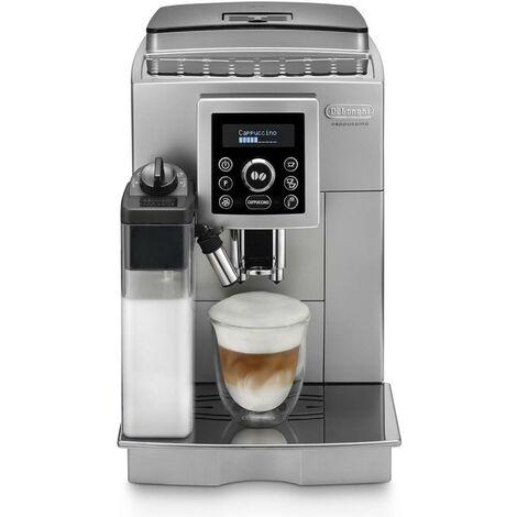 DeLonghi ECAM 23.460 S - Machine à café super-automatique, autocappuccino, numérique, système IFD, argenté
