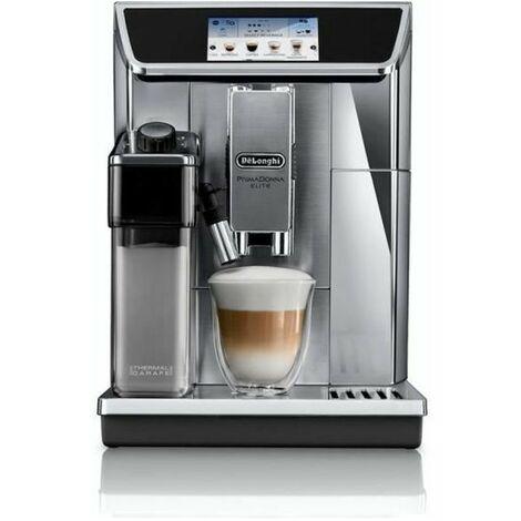"main image of ""DELONGHI ECAM 650.75.MS - Machine expresso automatique avec broyeur PrimaDonna Elite - Inox"""