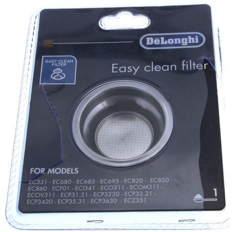DELONGHI, FILTRE Petit electro ménager 1 TASSE EASY CLEAN
