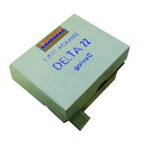 DELTA 22 ZAUNRINGE - Verzinkt A - 1000 Stk. - EDMA