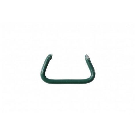 DELTA 22 ZAUNRINGE - Verzinkt grün - 1000 Stk. - EDMA