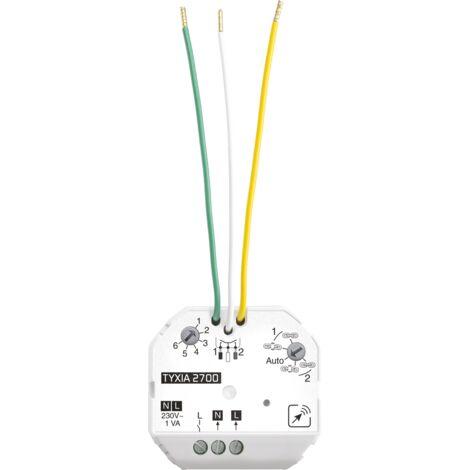 Delta Dore Emetteur Tyxia 2700 filaire pour commande d'éclairages - 6351096