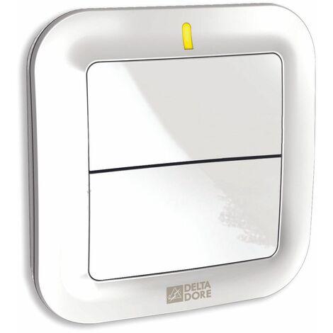 Delta Dore - TYXIA 2310 Interrupteur sans fil pour éclairages ou automatismes