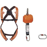 Delta Plus ELARA140 Fall Arrester System Vertical Kit 2.5M - S/M/L