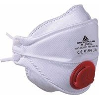 Delta Plus M1304V Evolution FFP3 folding mask with valve (pack 10)