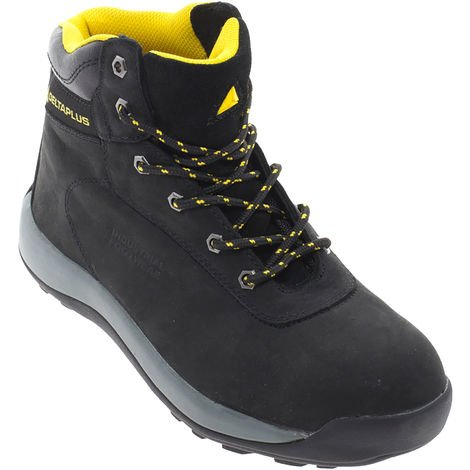Delta Plus Unisex Nubuck Leather Hiker Safety Boots / Footwear
