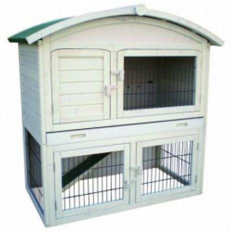 Deluxe Chicken Coop hen-house Box Rabbit Hutch 112 * 62 * 113 cm