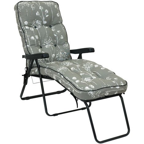 """main image of """"Deluxe Lounger Renaissance Grey"""""""