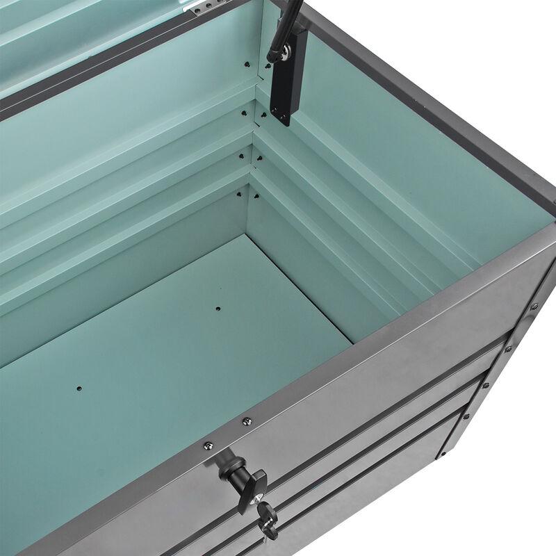 Beliebt DEMA Metall Gerätebox / Auflagenbox Völklingen Box Metall Garten WP65