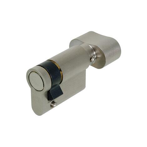 Demi cylindre à bouton f5s - Longueur : 30x10 - A : 30 - IFAM