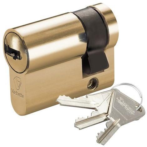 Demi Cylindre Vachette V5 Petit Barillet canon 30 x 10 pour serrure de porte