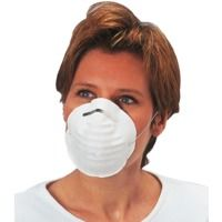 Demi-masque d'hygiène à usage unique. Boîte de 50 pièces. Singer AUUMASQUE. Taille Unique