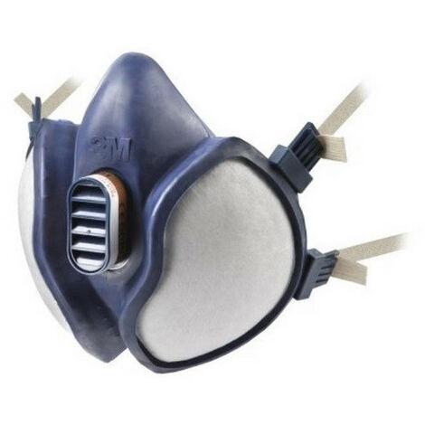 Demi-masque filtre intégré A2P3 4255 3M