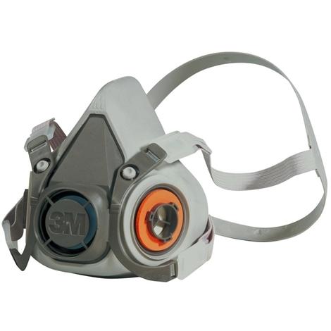 Demi-masque respiratoire en kraton 6000 : face6200 taille moyenne k620