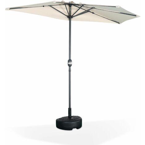 Demi-parasol pour balcon 2.5m - Calvi