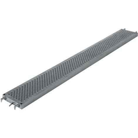 Demi plancher 0.36x1.80m en acier galvanisé