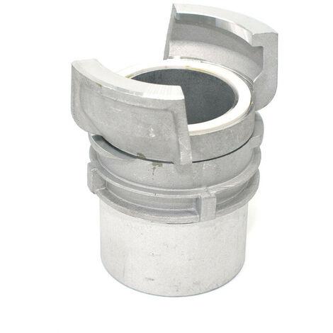 Demi raccord symétrique Guillemin à verrou à douille filetée femelle en aluminium - DN 20 x 3/4'' BSP