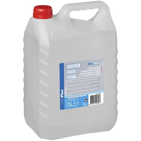 Demineralized water 5 liter