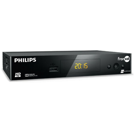 Demodulateur Satellite + Carte FRANSAT à vie + Cable HDMi Offert Philips DSR3031F