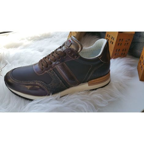 DeNiro Sneaker Viceversa, Halbschuh, 39, coffeebronzebraun