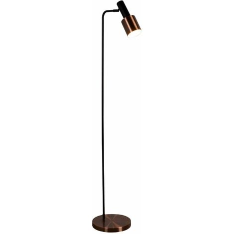 Denmark floor lamp, copper