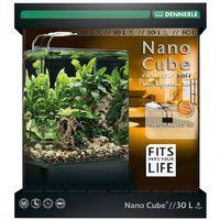 DENNERLE Nano Cube Complete+ Soil 30 Liter Aquariumset