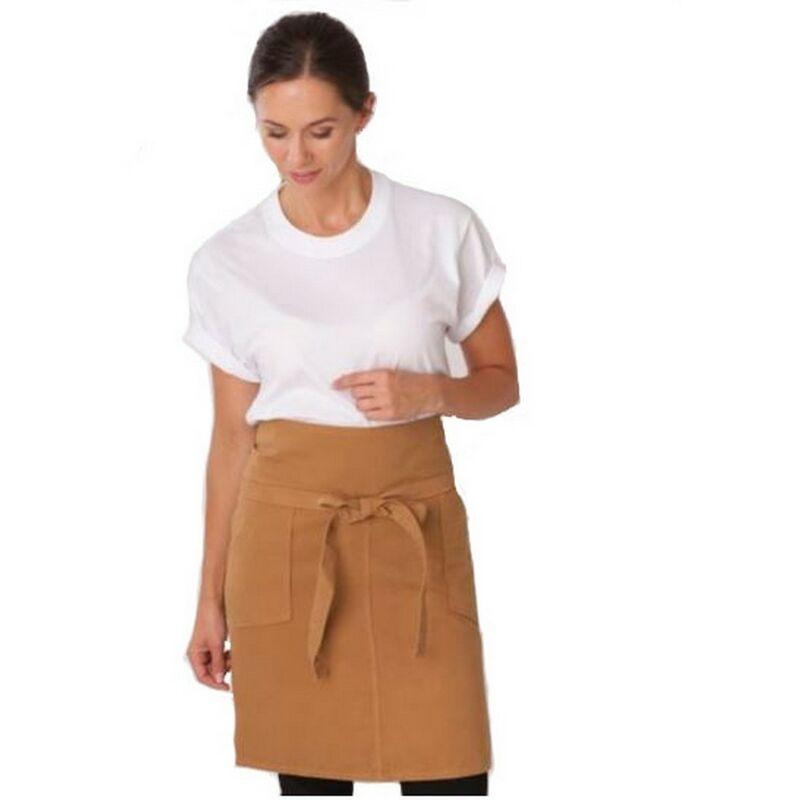Image of Dennys Adults/Unisex Originals Waist Apron With Pocket (One Size) (Khaki)