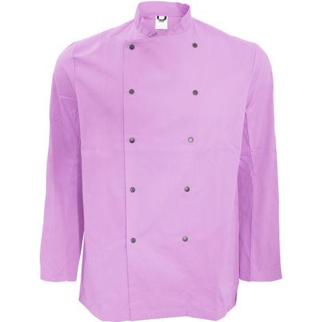 Dennys Unisex Long Sleeve Stud Button Chef Jacket