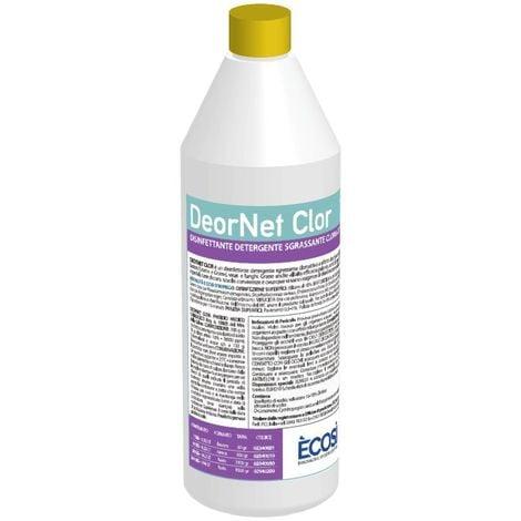 "main image of ""DeorNet Clor Disinfettante detergente sgrassante cloroattivo 1kg"""