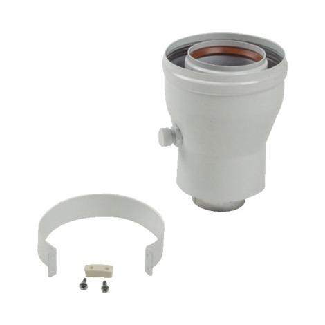 Départ ventouse verticale 80/125 condensation