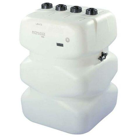 Depósito Gasoil 500 litros Pared Simple (V) + Kit instalación caldera