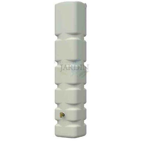 Depósito polietileno 300 litros 42x40x210 cm beige
