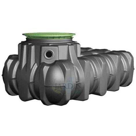 Depósito polietileno poca profundidad 3000 litros
