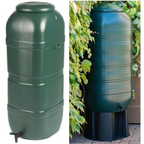 Deposito Tanque Contenedor de Agua con Grifo y Soporte. 100 L